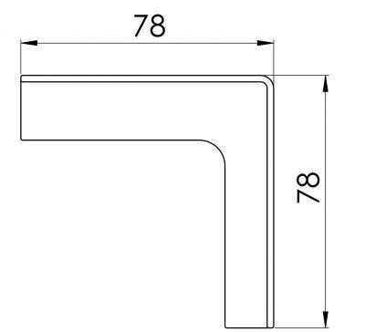 Elementy do kartonów PP - czcionka 7 mm